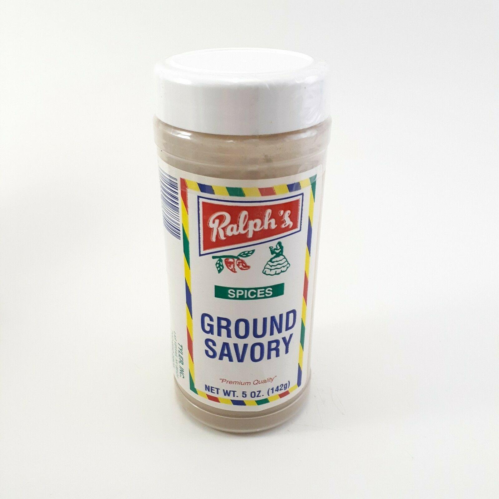 Ground Savory 5 Oz Ralph's Spices Premium Quality
