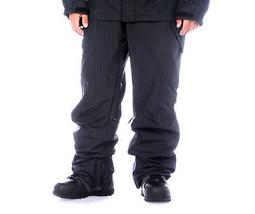 Empyre Recon Pants Mens Snowboard Ski Cargo Waterproof Black Pinstripe XL - $94.71