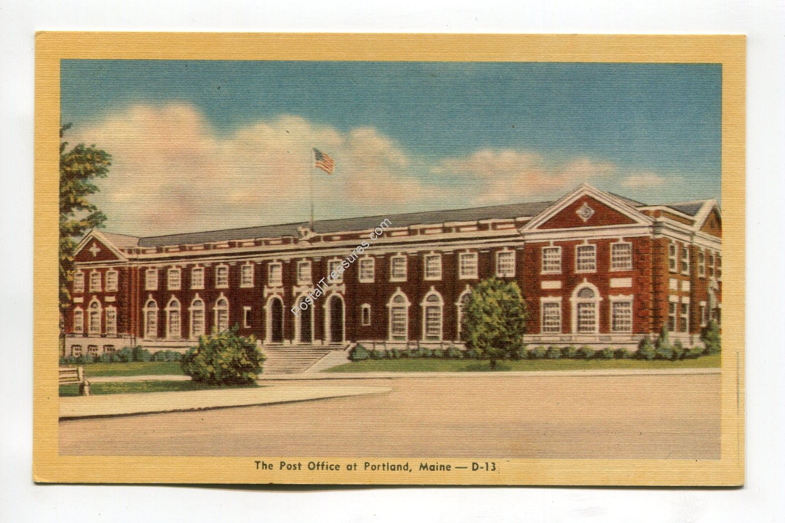 Primary image for Post Office at Portland Maine