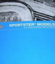 2014 Harley Davidson SPORTSTER Service Repair Shop Manual W Electrical & Parts - $287.05