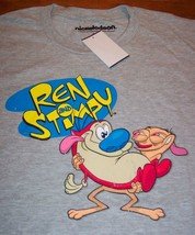 Vintage Style Nickelodeon Ren & Stimpy T-Shirt Small New w/ Tag - $19.80