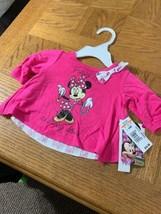Baby Girl Disney Shirt Size 0/3M - $19.74
