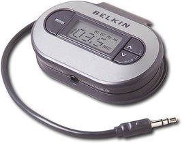 Belkin TuneCast II FM Transmitter for MP3 Players (Black)  - $23.69