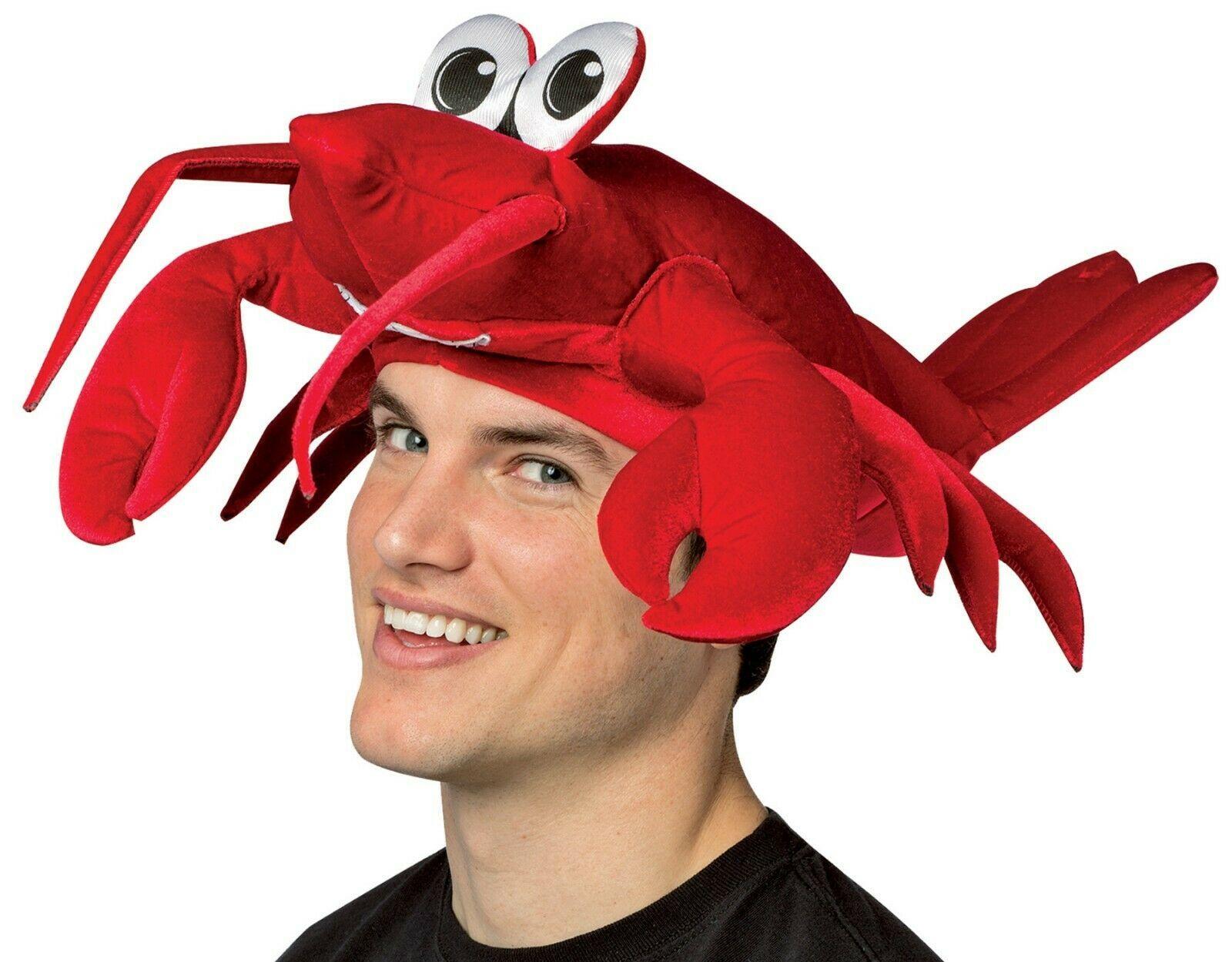 Rasta Imposta Aragosta Crostaceo Cappello Adulto Halloween Accessorio Costume