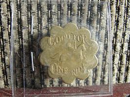 1975 Bushnell Lark Carosel Ride ,old 40 yr old merry go round token CT - $57.00