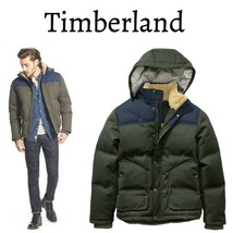 Timberland Men's Down Shrewsbury Peak Waterproof Snow Winter Jacket  XXL - $130.89