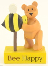 Carson POZY Bears Figurine Bee Happy Collectible Giftware Gift Decor Collectable - $11.99