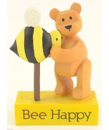 Carson POZY Bears Figurine Bee Happy Collectible Giftware Gift Decor Col... - $11.99