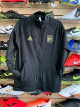 Adidas Los Angeles Football Club LAFC ANTHEM JACKET ORIGINAL FREE SHIPPING - $89.99