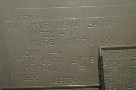07-12 Nissan Versa Center Upper Dash Vent Bezel Trim Panel Tan/Brown image 7