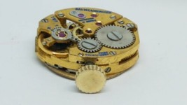 BAUME MERCIER VINTAGE 17 JEWEL MANUAL WIND Watch Movement Running  - $29.69