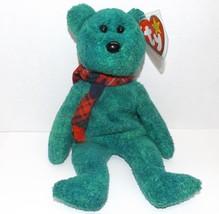 """1999 Ty Beanie Baby """"Wallace"""" Bear  : China Made w/P.E. Pellets - $7.72"""