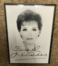Julie Andrews Signed Print Autograph Authentic Genuine Frames - $113.05