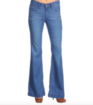 New James Jeans Humphrey High Rise Flare Leg Jeans Light Wash Sz 26 27 $185 - $24.99