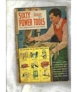 Vintage Homecrafter Idea Book -- SIXTY POWER TOOLS YOU CAN MAKE (Copyrig... - $10.00