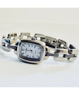 Carriage by Timex Blue Dial Silver Tone Women's Watch - $19.25