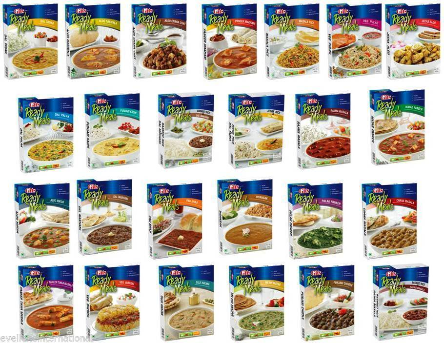 Primary image for Gits  Ready Meals  Choose from 25 Variants  Instant Indian Meal 100% Veg