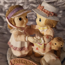 """Friendship figurine, Jody's Dream Keepers by Royal Doulton, 1998, """"of all the tr image 6"""
