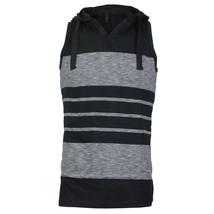 Men's Sport Gym Lightweight Sleeveless Slim Fit Tank Top T-Shirt Hoodie Vest image 2