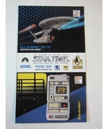 """1995 SkyBox 30 Years of Star Trek Phase One Promotional 3.5"""" x 6"""" Card - $7.99"""