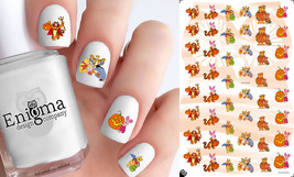 Pooh Halloween Nail Decals (Set of 48) - $4.95