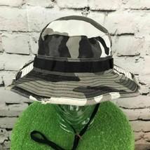 Dorfman Pacific Mens Sz L Hat Distressed Camouflage Bucket Explorer Sun Cap - $39.59