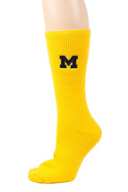 University of Michigan Licensed Maize Thermal Socks - $17.95