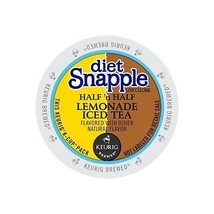 Snapple Diet Half 'n Half Lemonade Iced Tea, 88 count K cups, FREE SHIPPING ! - $63.57