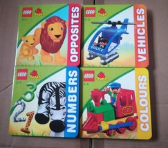 lego duplo board books for 2-4 yrs set of 4  - $19.99