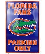 "Florida Gators Fans Parking Only Aluminum Wall / Man-cave Sign 12""X18"" - $19.15"