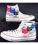 Converse Andy Warhol Chuck Taylor 1970s 70's Hi Campbell's Soup Cans 147121 - $59.50