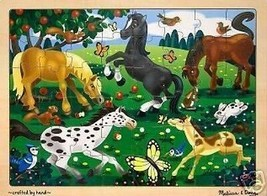 Melissa &Doug 3801 Frolicking Horses 48pc Jigsaw Puzzle - $9.69