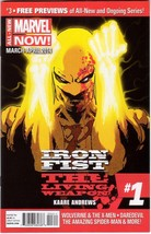 Marvel Previews Promo Comic Book Iron First Liv... - $4.95