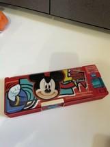 Micky Mouse & Friends Donald Duck Disney Land Vinyl plastic Pencil Case - $19.75