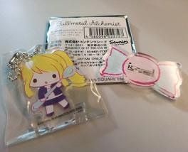 Fullmetal Alchemist Sanrio Acrylic Keychain Stand Winry Rockbell Anime H... - $28.70
