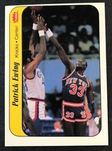 1986 Fleer Sticker #6 Patrick Ewing  Knicks - $4.90
