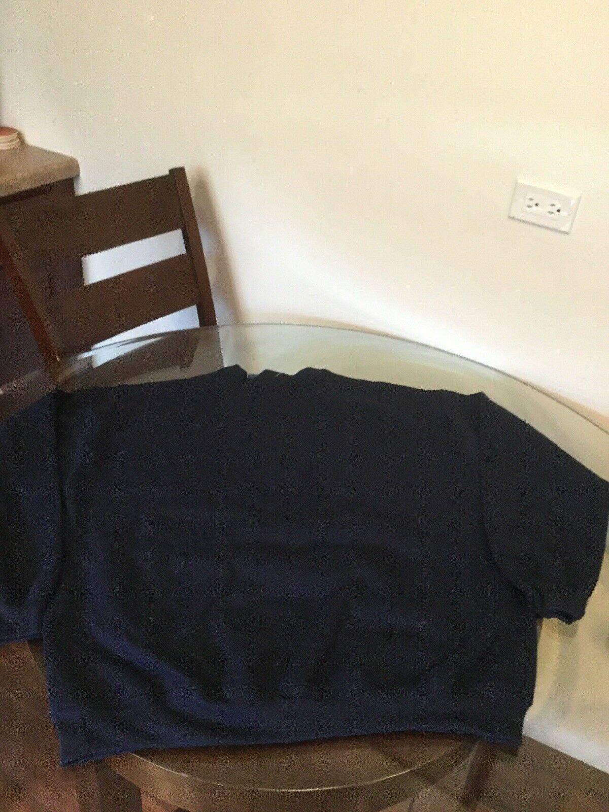 NWT Champion Blue Script Crew Neck Sweatshirt Big & Tall 1XL New With Tags image 5