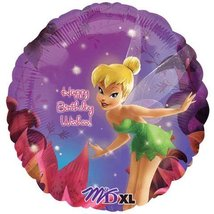 Tinkerbell Magical Birthday Party Supplies Balloon 18 Inch - $3.22