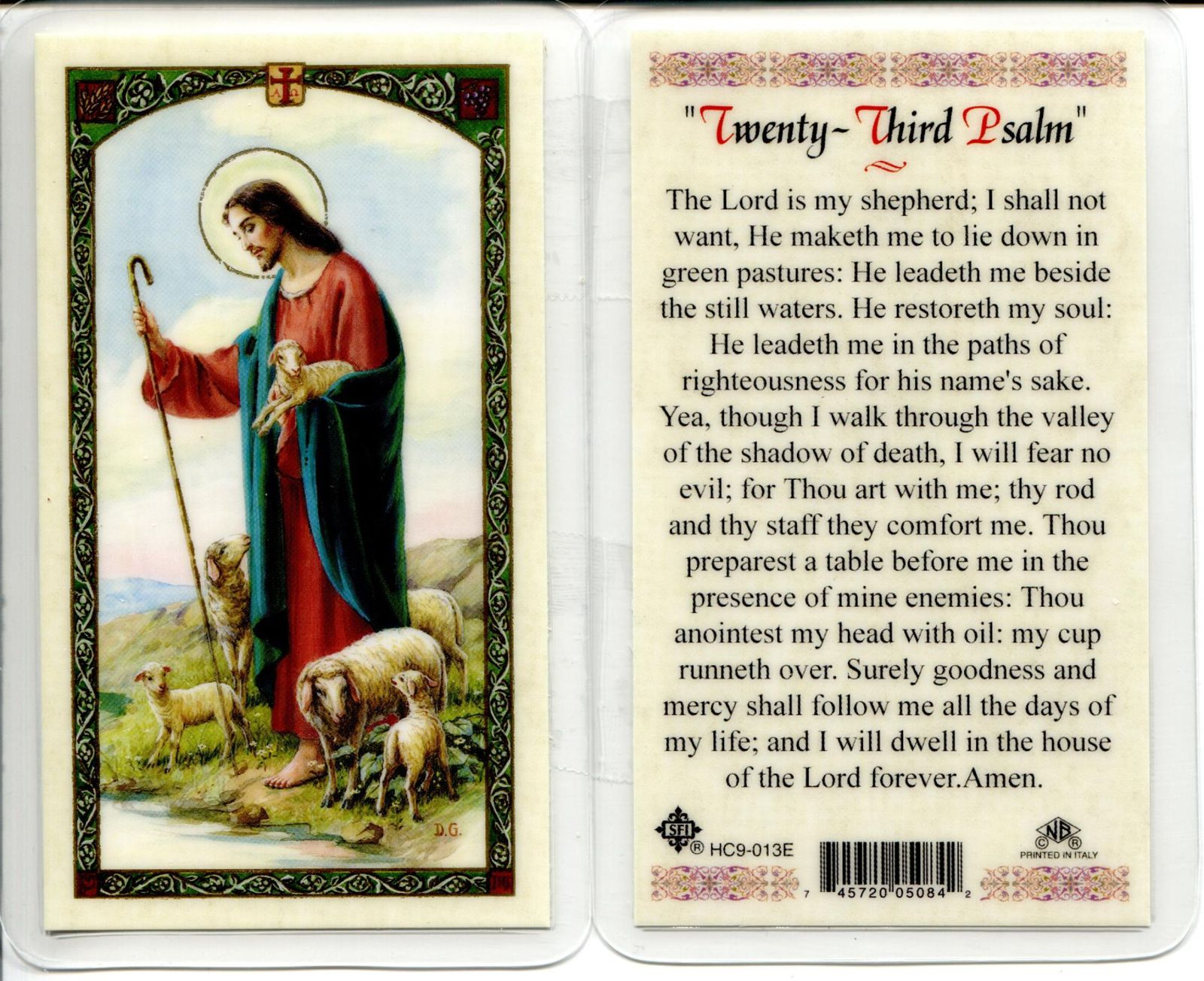 Primary image for 25 Lot - Save Big Only $24.99 - Regular and Wallet Style Holy Cards - EB025 -