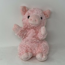 "Aurora Plush Pink Pig Hand Puppet 10"" Soft Stuffed Animal Toy 2019 - $14.50"