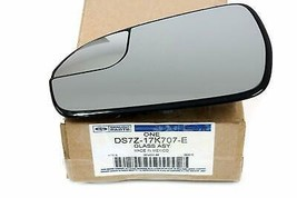New 2013-2018 Ford Fusion Lh Or Driver Side Mirror Glass, Oem - $71.95