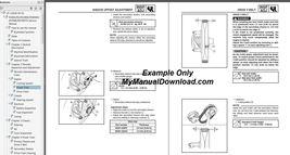 2003-2010 Yamaha Apex Snowmobile Service Manual LIT-12618-RX-01 LIT-12618-RX-02 - $15.00