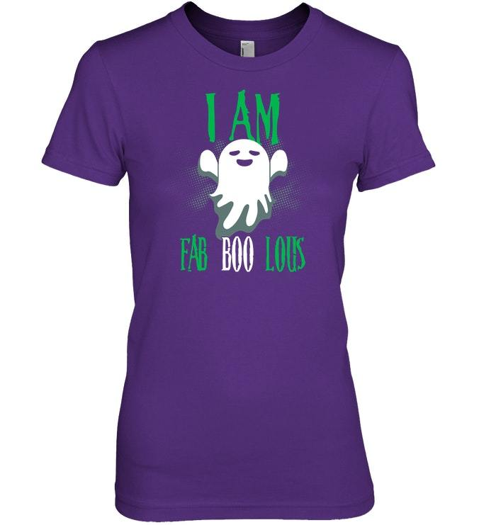 Funny I Am Fab Boo Lous Ghost Halloween Tshirt Gift