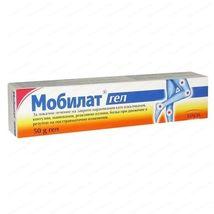 MOBILAT GEL 50g - Pain,Arthritic And Hematom,Sprains, Bruises, Stretch T... - $9.35