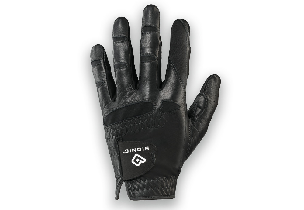 Bionic StableGrip Black Golf Glove Mens, All Sizes Available