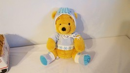 MF Nordic Pooh Disney Store Exclusive Super Soft Plush Winter Snowflakes... - $9.89