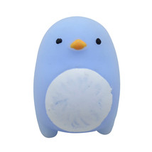 Blue Mini Cute Mochi Squishy Cat Squeeze Healing Fun Kids Kawaii Toy Stress - $5.54