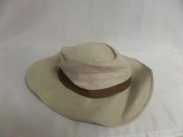 TAN & BROWN PANAMA JACK TYPE HAT - $23.13