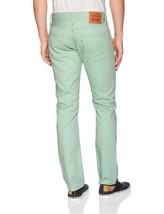 Levi's Strauss 511 Men's Premium Slim Fit Stretch Jeans Grayed Jade 511-2685 image 2
