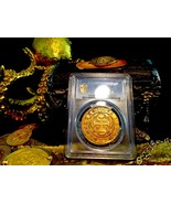 SPAIN 1700 GOLD 8 ESCUDOS NGC 50 COB DOUBLOON CHARLES II COIN - $19,500.00